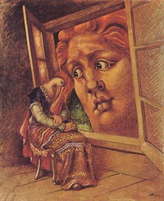 Alberto Savinio, L'annunciazione, 1932, coll. priv.